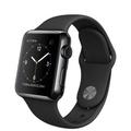 AppleApple Watch 38mm スペースブラックステンレススチール/ブラックスポーツバンド MLCK2J/A