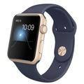 AppleApple Watch Sport 42mm ゴールドアルミニウム/ミッドナイトブルースポーツバンド MLC72J/A