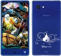 SHARP docomo Disney Mobile on docomo DM-01H Sparkle Blue
