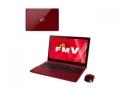 Fujitsu LIFEBOOK AH AH77/W FMVA77WR ガーネットレッド