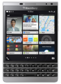 BlackBerry BlackBerry Passport Silver Edition LTE SQW100-4 RHR191LW(海外携帯)
