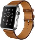 AppleApple Watch HERMES 42mm シンプルトゥール ヴォー・バレニア(フォーヴ)レザー MLCC2J/A
