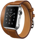 AppleApple Watch HERMES 38mm ドゥブルトゥール ヴォー・バレニア(フォーヴ)レザー S/Mサイズ MLC02J/A