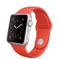Apple Apple Watch Sport 38mm シルバーアルミニウム/オレンジスポーツバンド MLCF2J/A