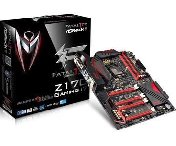 ASRockFatal1ty Z170 Professional Gaming i7 Z170/LGA1151(DDR4)/M.2/SATA Express/USB 3.1(Type-C,A)/ATX
