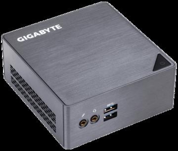 GIGABYTEGB-BSi7H-6500 Core i7-6500U(2.5GHz/TB3.1GHz/2C/4T/HDG520)/11ac無線LAN/小型PC自作キット