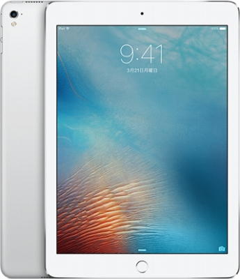 AppleiPad Pro 9.7インチ Cellular 128GB シルバー(国内版SIMロックフリー) MLQ42J/A