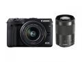 Canon EOS M3 ダブルズームキット2 ブラック