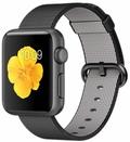 AppleApple Watch Sport 38mm スペースグレイアルミニウム/ブラックウーブンナイロン MMF62J/A