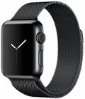 AppleApple Watch 38mm スペースブラックステンレススチール/スペースブラックミラネーゼループ MMFK2J/A