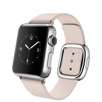AppleApple Watch 38mm ステンレススチール/ソフトピンクモダンバックル Sサイズ MJ362J/A