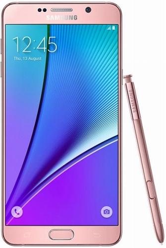 SAMSUNGGALAXY Note 5 Dual SIM SM-N9200 LTE 32GB Pink Gold(海外携帯)