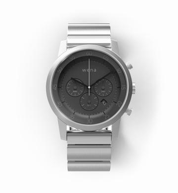 SONYwena wrist Chronograph Silver WN-WC01S(ヘッド・バンドセット)