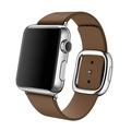 AppleApple Watch 38mm ステンレススチール/ブラウンモダンバックル Sサイズ MJ3A2J/A