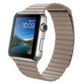 AppleApple Watch 42mm ステンレススチール/ストーンレザーループ Mサイズ MJ432J/A