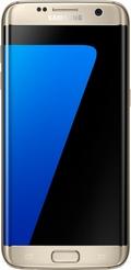 SAMSUNGGALAXY S7 edge Dual SIM SM-G9350 32GB Gold Platinum(海外携帯)