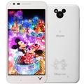 LG電子docomo Disney Mobile on docomo DM-02H White