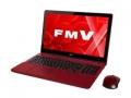 Fujitsu LIFEBOOK AH AH77/Y FMVA77YR ガーネットレッド