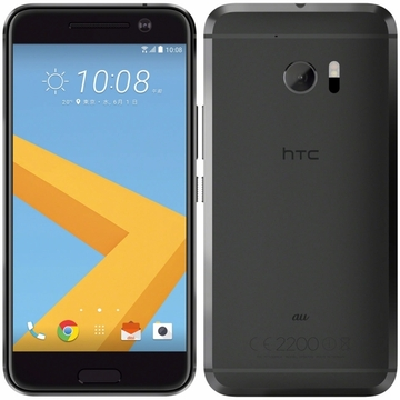 HTCau HTC 10 HTV32 カーボングレイ