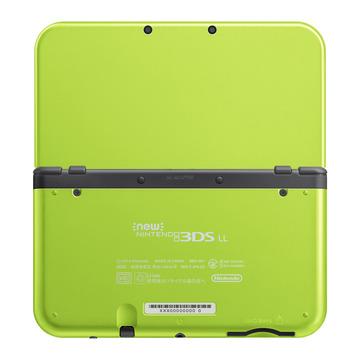 NintendoNewニンテンドー3DS LL (ライム×ブラック) RED-S-MAAA