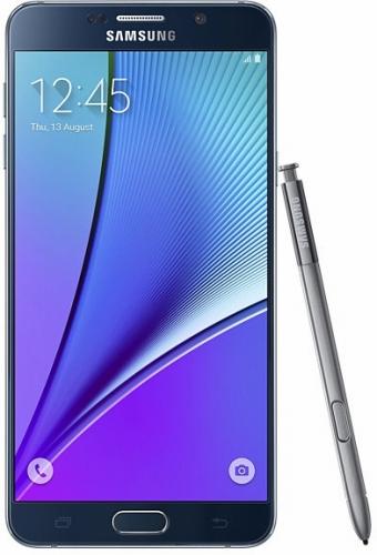 SAMSUNGGALAXY Note 5 SM-N920I LTE 64GB Black Sapphire(海外携帯)