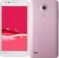 LG電子au Qua phone PX LGV33 ピンク