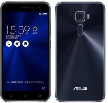ASUSZenFone 3 5.2インチ 3GB 32GB Sapphire Black (海外版SIMロックフリー) ZE520KL