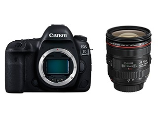 CanonEOS 5D Mark IV (WG) EF24-70 F4 L IS USM レンズキット