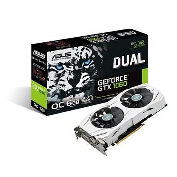 ASUSDUAL-GTX1060-O6G GTX1060/6GB(GDDR5)/PCI-E