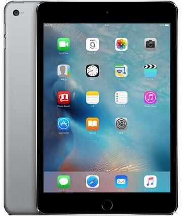 iPad mini4 Wi-Fiモデル 128GB スペースグレイ(海外版)