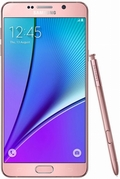 SAMSUNGGALAXY Note 5 Dual SIM SM-N9208 LTE 32GB Pink Gold(海外携帯)