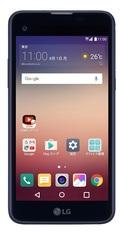 LG電子LG X screen LGS02 ネイビー(SIMフリー)