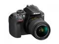 Nikon D3400 18-55 VR レンズキット ブラック