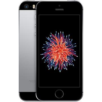 Appledocomo 【SIMロック解除済み】 iPhone SE 16GB スペースグレイ MLLN2J/A