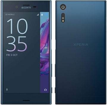 SONY Xperia XZ Dual F8332 LTE 64GB Forest blue(海外携帯)