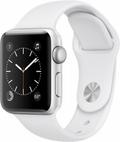 Apple Apple Watch Series2 38mmシルバーアルミニウム/ホワイトスポーツバンド