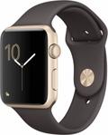 AppleApple Watch Series1 42mmゴールドアルミニウム/ココアスポーツバンド MNNN2J/A