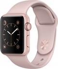 AppleApple Watch Series1 38mmローズゴールドアルミニウム/ピンクサンドスポーツバンド