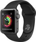 AppleApple Watch Series2 38mmスペースグレイアルミニウム/ブラックスポーツバンド MP0E2J/A