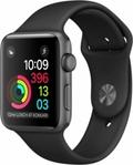 Apple Apple Watch Series2 42mmスペースグレイアルミニウム/ブラックスポーツバンド
