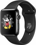 Apple Apple Watch Series2 42mmスペースブラックステンレススチール/ブラックスポーツバンド