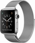 AppleApple Watch Series2 42mmステンレススチール/ミラネーゼループ