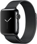 Apple Apple Watch Series2 38mmスペースブラックステンレススチール/スペースブラックミラネーゼループ