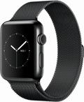 AppleApple Watch Series2 42mmスペースブラックステンレススチール/スペースブラックミラネーゼループ MNU92J/A
