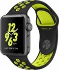 AppleApple Watch Series2 Nike+ 38mmスペースグレイアルミニウム/ブラック/ボルトNikeスポーツバンド