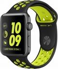 AppleApple Watch Series2 Nike+ 42mmスペースグレイアルミニウム/ブラック/ボルトNikeスポーツバンド