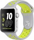 AppleApple Watch Series2 Nike+ 42mmシルバーアルミニウム/フラットシルバー/ボルトNikeスポーツバンド
