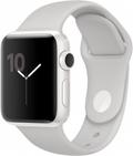 AppleApple Watch Edition Series2 38mm ホワイトセラミックケース/クラウドスポーツバンド