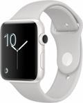 AppleApple Watch Edition Series2 42mm ホワイトセラミックケース/クラウドスポーツバンド
