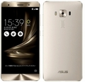 ASUSZenFone 3 Deluxe 5.7インチ 6GB 256GB シルバー (国内版SIMロックフリー) ZS570KL-SL256S6